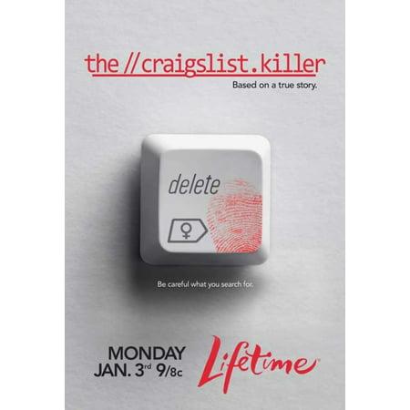 The Craigslist Killer Movie Poster Print  27 X 40