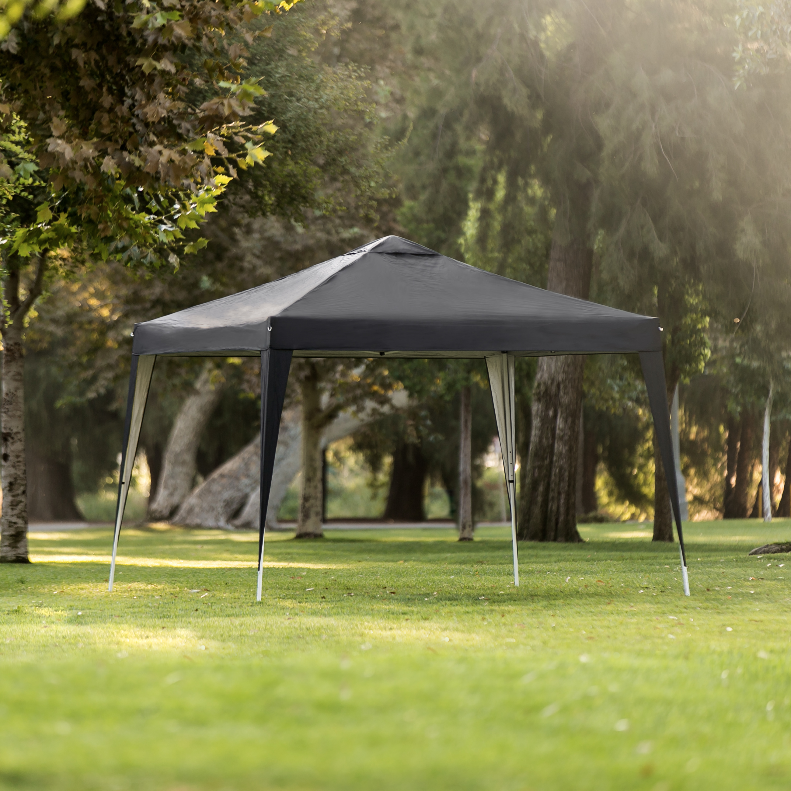Best Choice Products 10x10ft Portable Lightweight Pop Up Canopy w/ Carrying Bag - Black