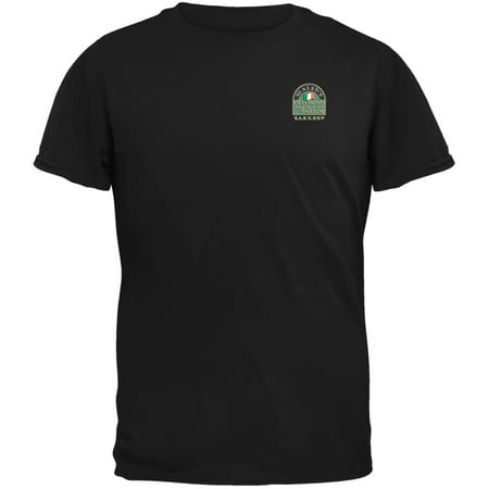 St. Patricks Day - Walsh's Irish Pub Slainte Barkeep Black Adult T-Shirt - St Patricks Day Tshirt