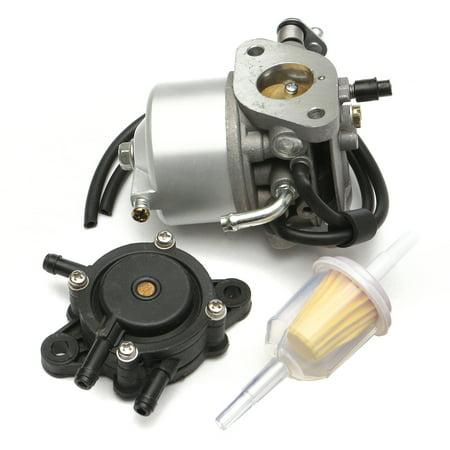 Carb Carburetor Fuel golfcartcarburetor Pump Filter For Ezgo 295cc Txt Golf Cart 4 Cycle Kart 91- 72558-G02 603901 17553 US (Ezgo Golf Cart Fuel Pump)