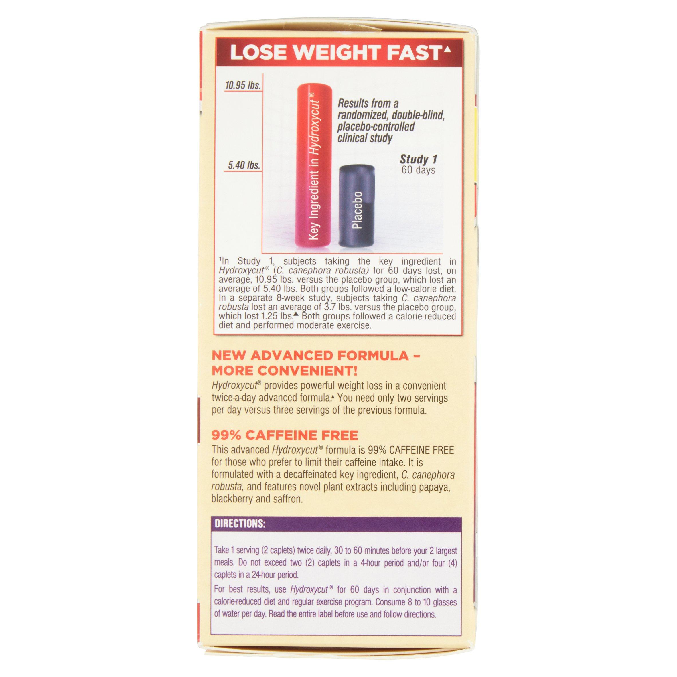Hydroxycut Pro Clinical Weight Loss Supplement Caplets, 60 Ct  Walmart