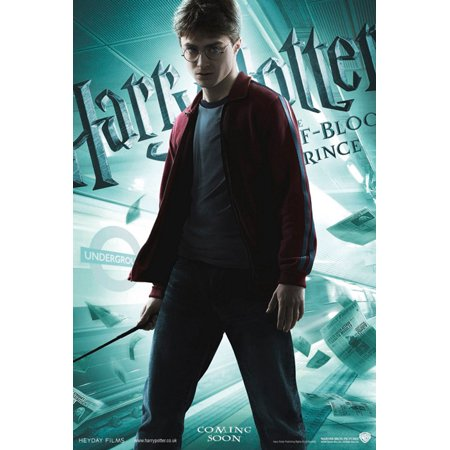 - Harry Potter And The Half-Blood Prince - Movie Poster / Print (International Teaser / Harry Standing) (Size: 27