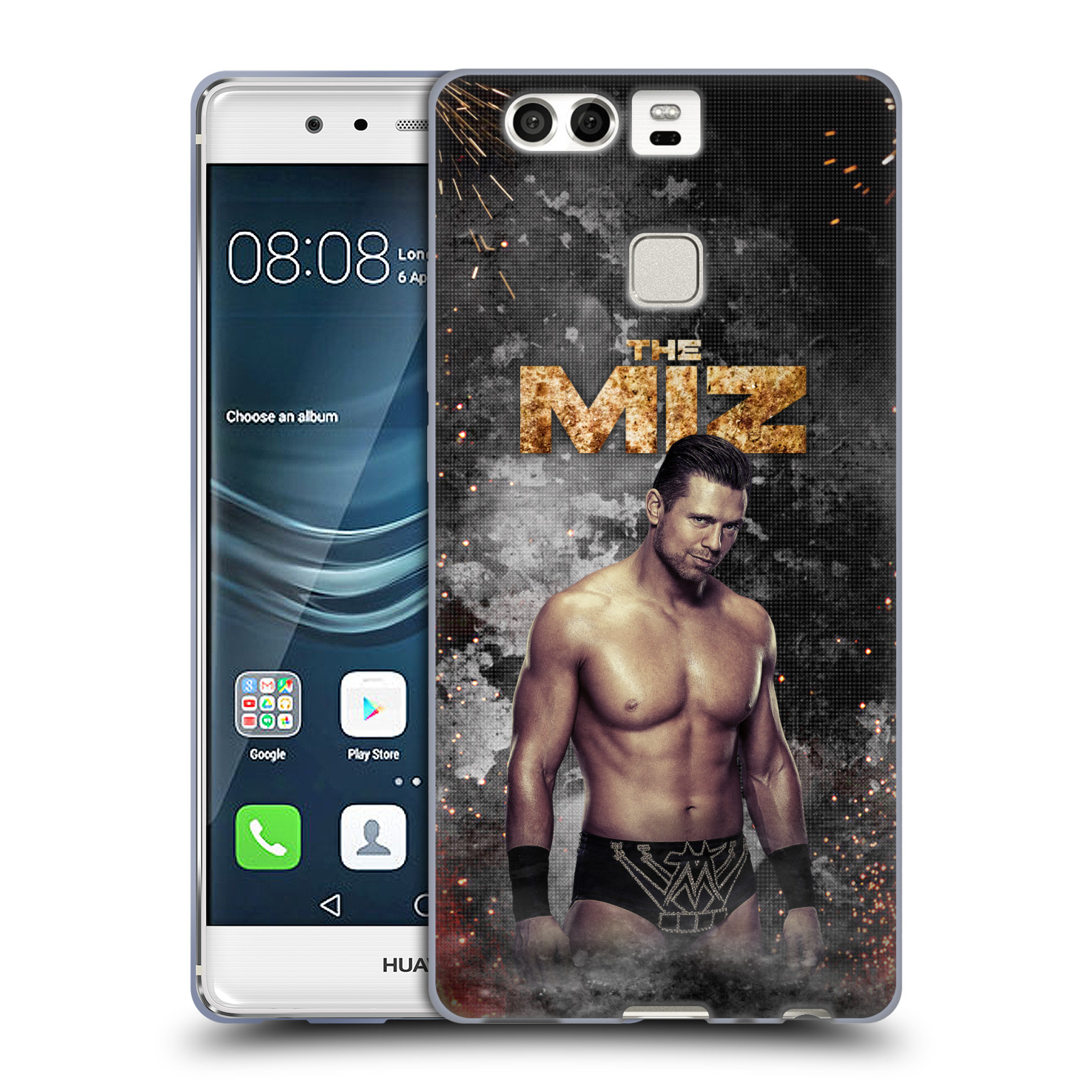 OFFICIAL WWE THE MIZ SOFT GEL CASE FOR HUAWEI PHONES