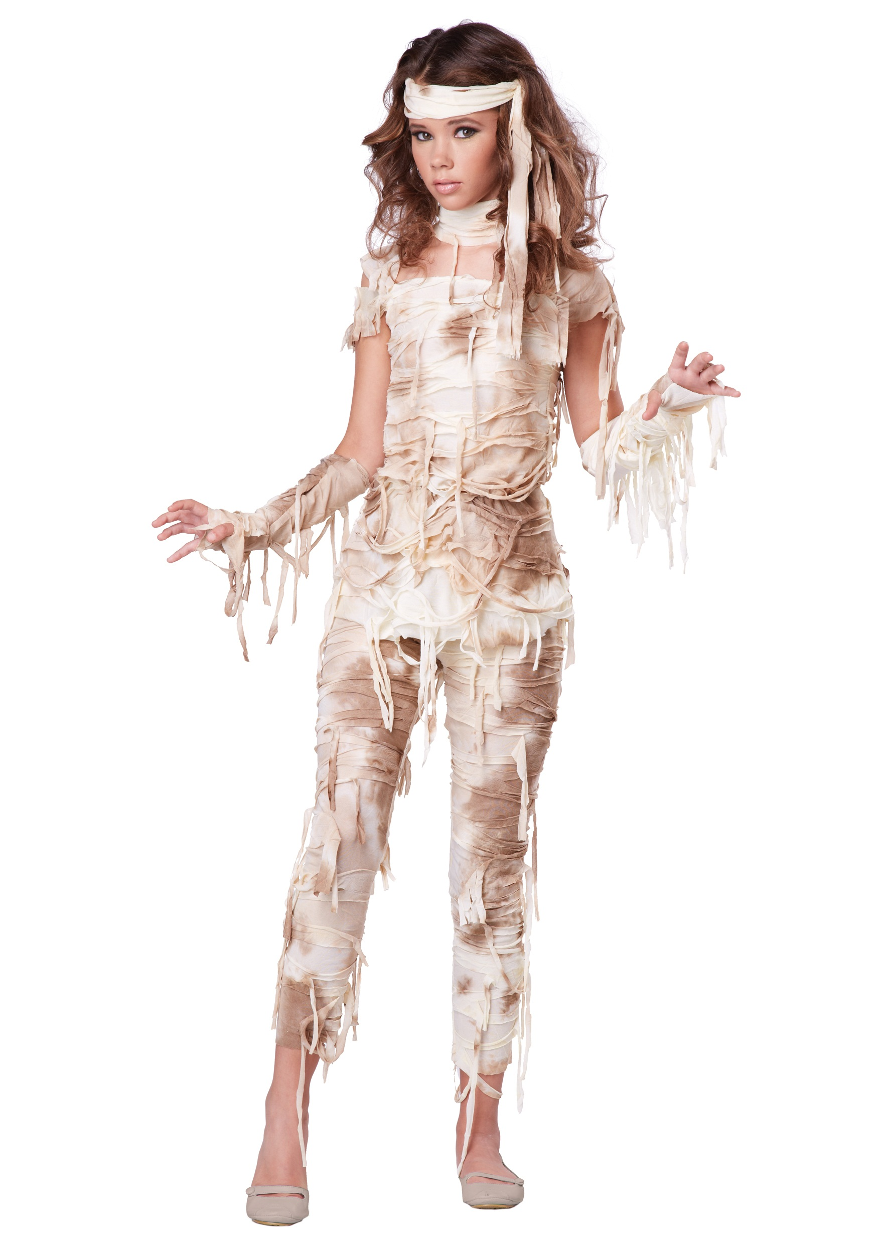 Teenage Halloween Costume Ideas For Girls.Mysterious Mummy Girls Teen Halloween Costume