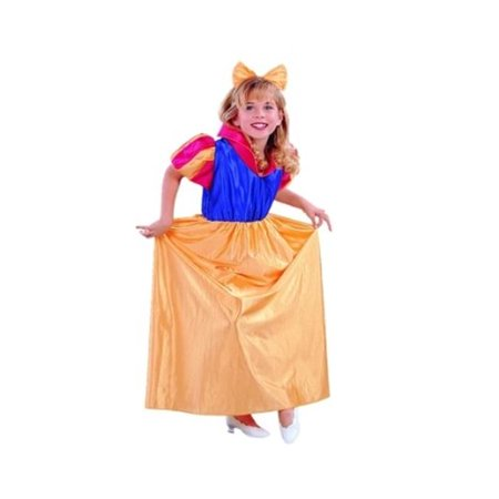 Snow White Costume - Size Child Large - Snow White Costume For Child