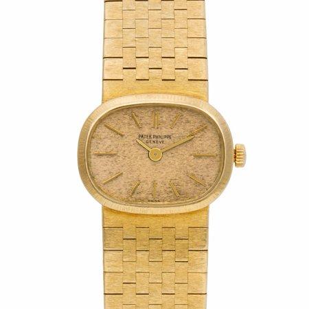 Pre-Owned Patek Philippe Ellipse 3373 Gold Women Watch (Certified Authentic & Warranty)