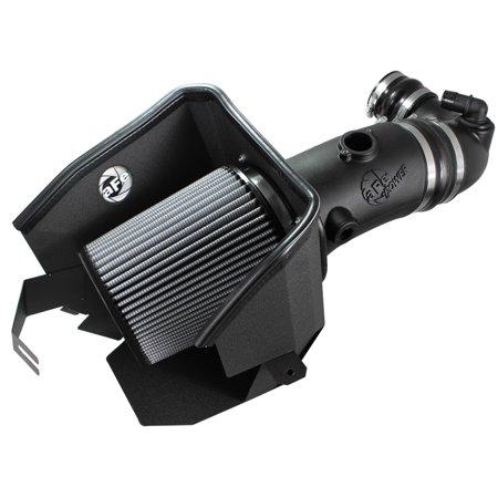 aFe MagnumFORCE Stage-2 Pro DRY S Air Intake System Ford Diesel Trucks 08-10 V8-6.4L (Pro Truck System)