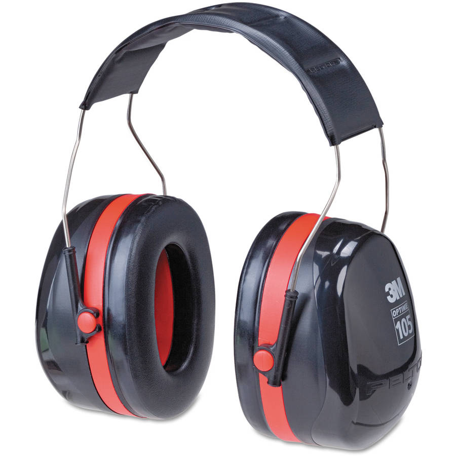 3M Extreme Performance Over-the-Head Ear Muffs for up to 105 dBA, H10A
