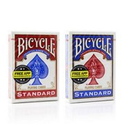 1 Deck Bicycle Rider Back 808 Standard Poker Playing Cards Red or Blue by USPCC