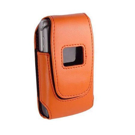 Technocel Plastic Shield Case for Motorola V3, Smasung A900 (Orange Blossom)