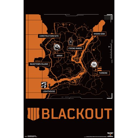 Call Of Duty Black Ops 4 - Blackout Map (Black Ops 2 Zombies Unlock All Maps)