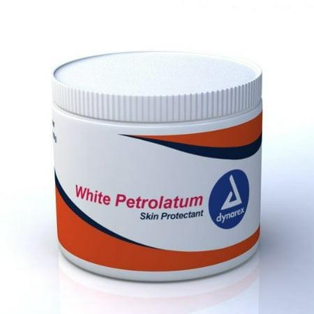 Dynarex White Petroleum Jelly - 15 oz Jar](White Jelly)