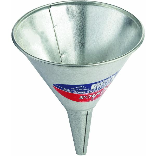 1 Quart Galvanized Funnel by S & K Products