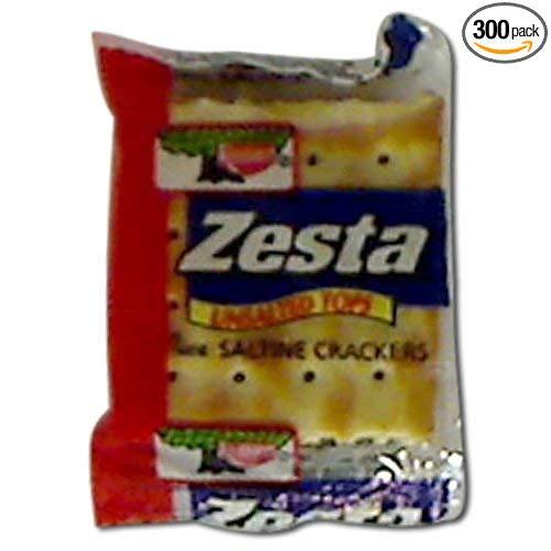 300 PACKS : Cracker Keebler Zesta Unsalted Top Saltine