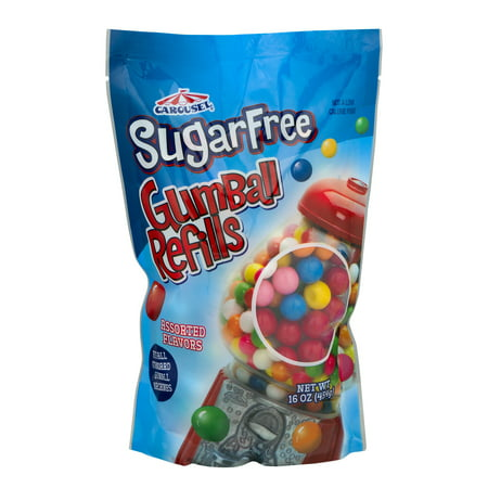 Ford Gum Sugar Free Gumball, 16 Oz