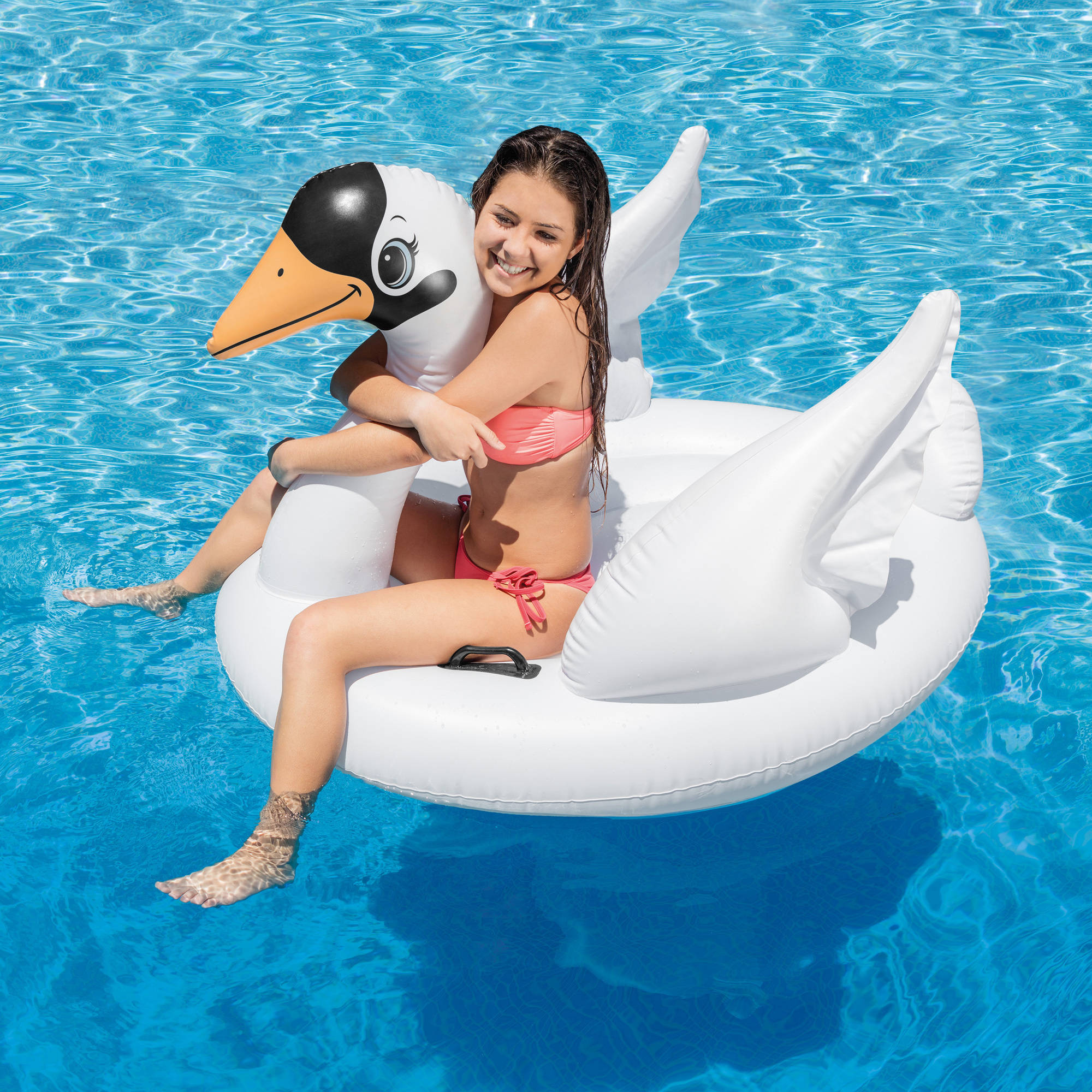 Intex Inflatable Swan Ride On Float