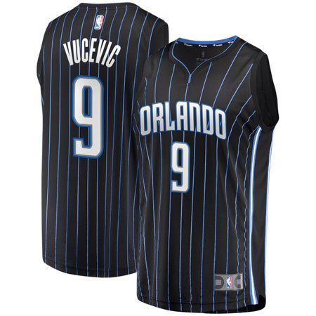 outlet store 62374 f6ce9 Nikola Vucevic Orlando Magic Fanatics Branded Fast Break Replica Player  Jersey - Statement Edition - Black