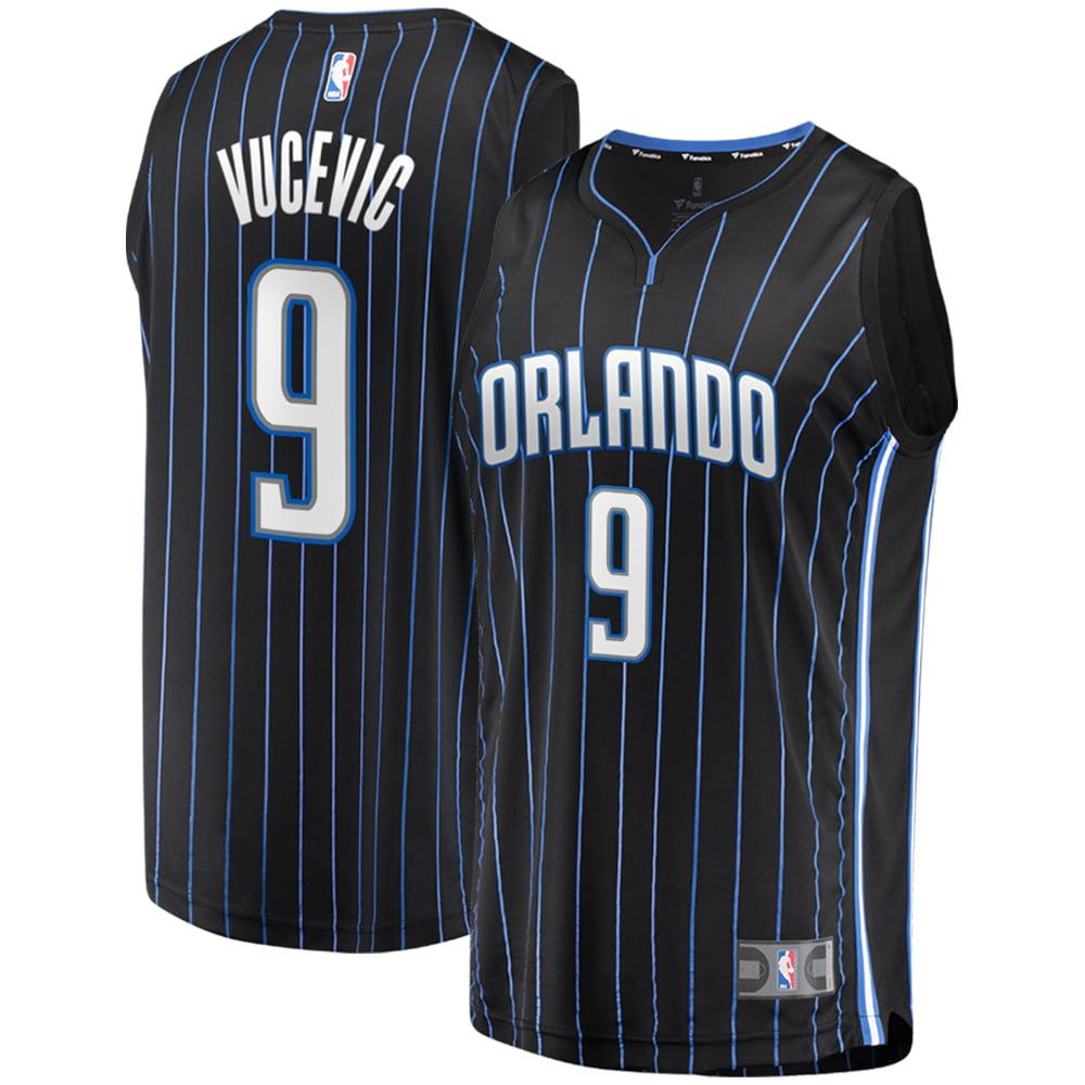 Nikola Vucevic Orlando Magic Fanatics Branded Fast Break Replica Player Jersey - Statement Edition - Black