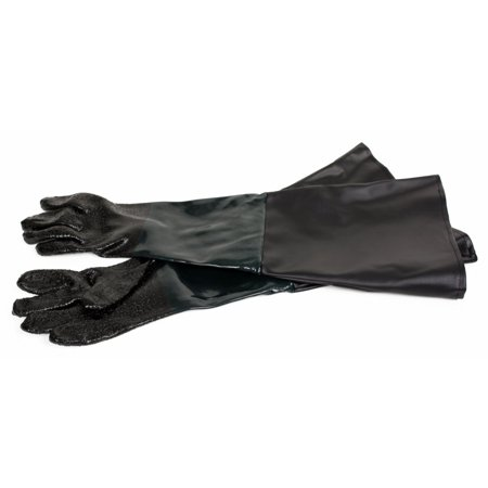 Dragway Tools Rubber Sandblasting Gloves for Model 60, 90, 110, 260 Sandblast Cabinets