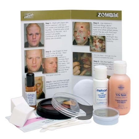 Zombie Makeup Kit (Zombie Pin Up Halloween Makeup)