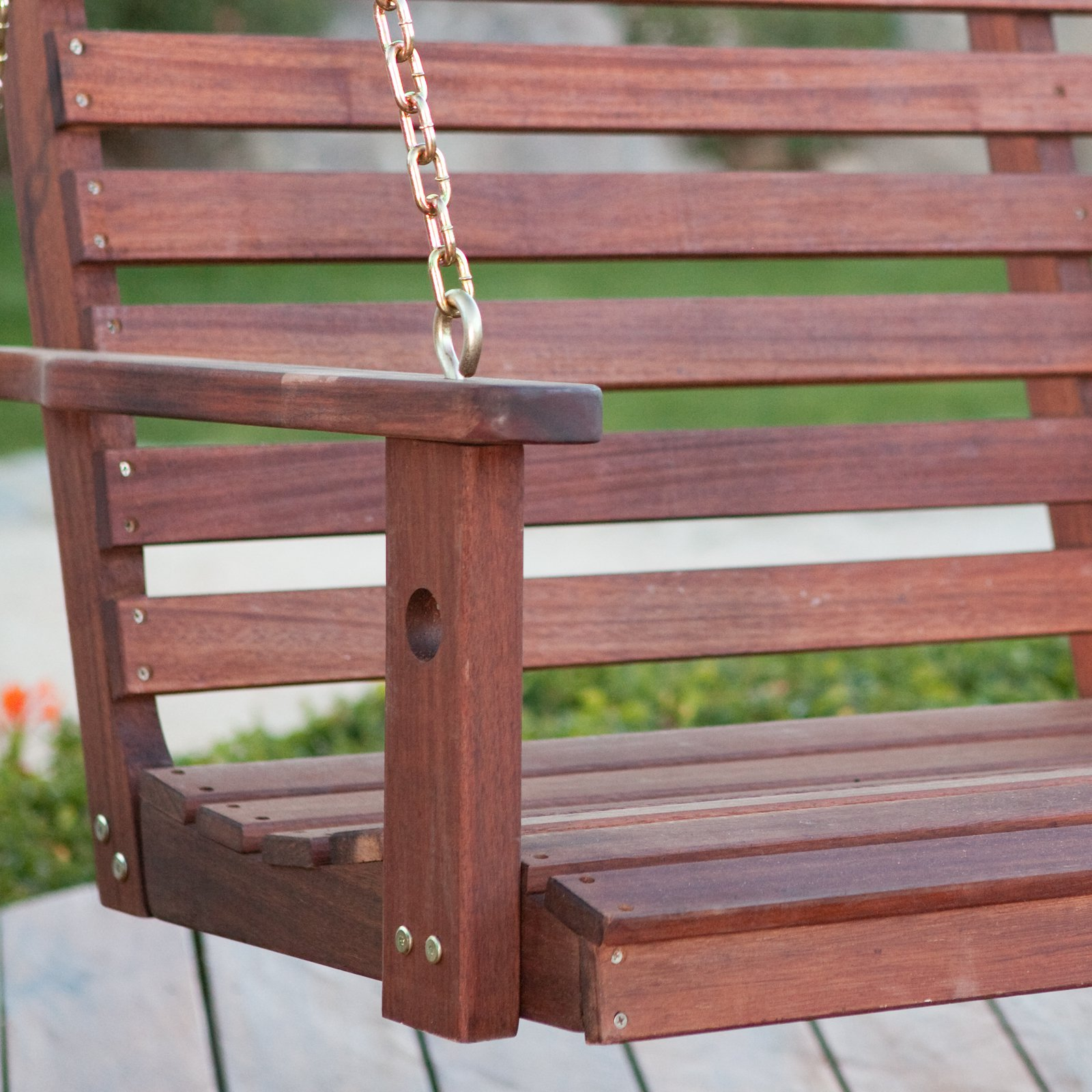 amish porch swing bed