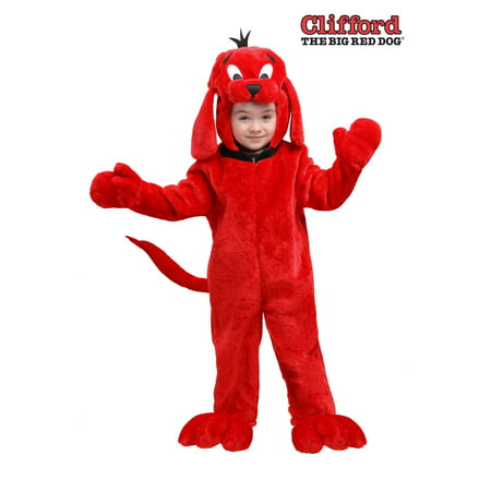 Clifford Big Red Dog Halloween Costumes (Clifford the Big Red Dog Toddler)