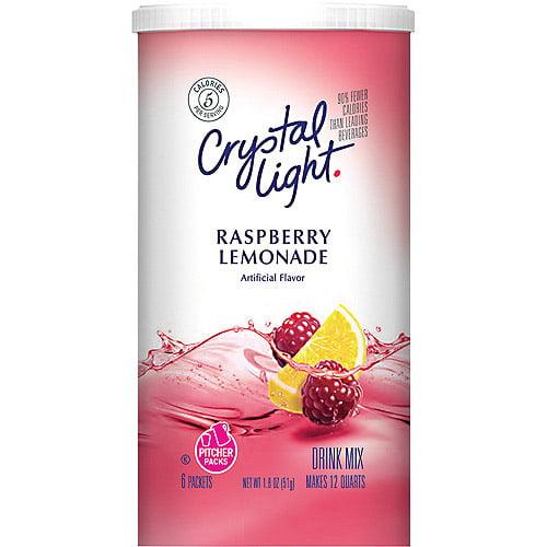 Crystal Light Sugar Free Raspberry Lemonade Drink Mix 1 8