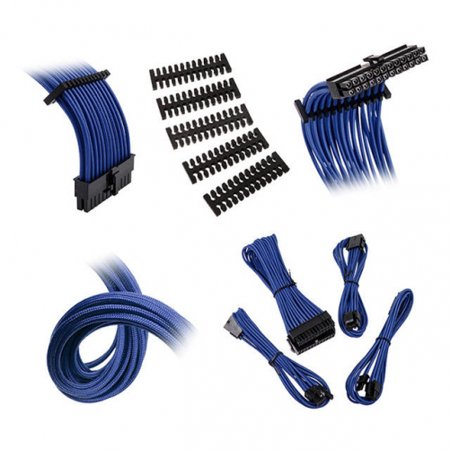 Extension Cable Kit - Bitfenix Alchemy 2.0 Extension Cable Kit - Blue (BFX-ALC-EXTBB-RP)