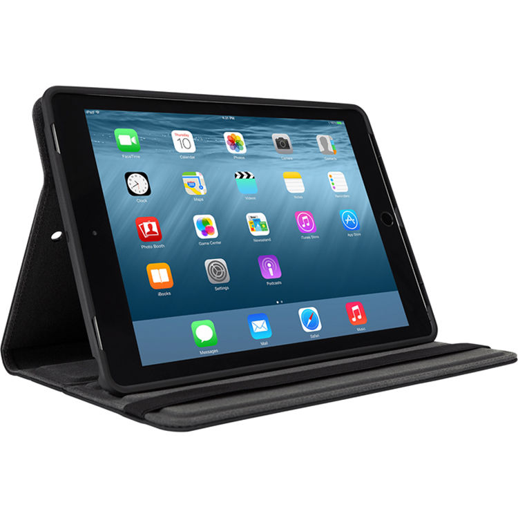"Targus VersaVu Classic 360 degree Rotating Case for iPad Pro 9.7"" & Air/Air 2 - Black"