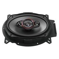 "Pioneer TS-900M, (2) 6"" x 9"" 4-way coaxial speakers, 450W max power"