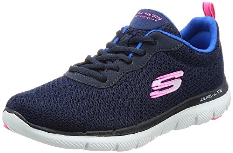 12775 Navy Skechers Shoe Women Memory Foam Sport Comfort Mesh Sneaker Casual New 12775NAVY by Skechers