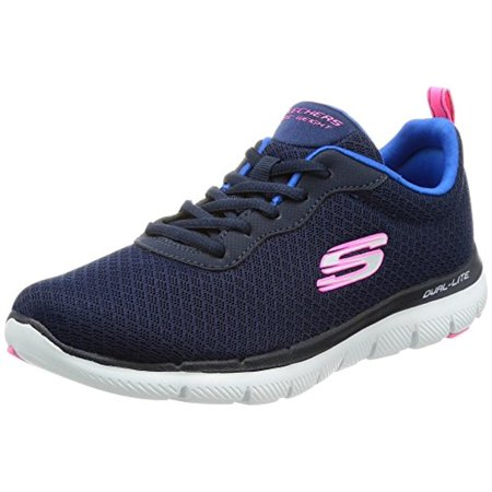 12775 Navy Skechers Shoe Women Memory Foam Sport Comfort Mesh Sneaker Casual New 12775NAVY (Skechers Memory Foam Shoes Girls)