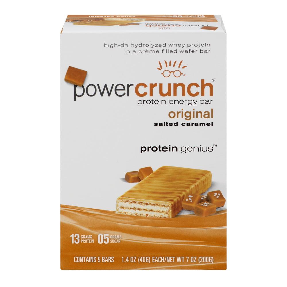 Power Crunch Protein Energy Bar Original Salted Caramel - 5 CT