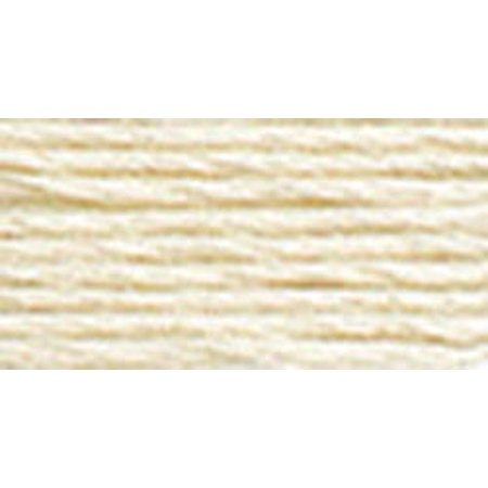 DMC Mouline 117-712 Six-Strand Embroidery Thread, Cream, 8.7-Yards