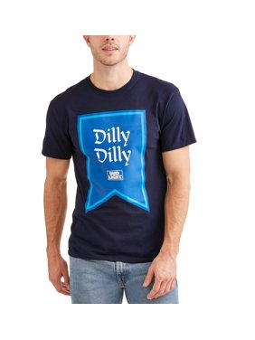 d4819c754 Product Image Bud Light Men s Dilly Dilly Flag T-Shirt