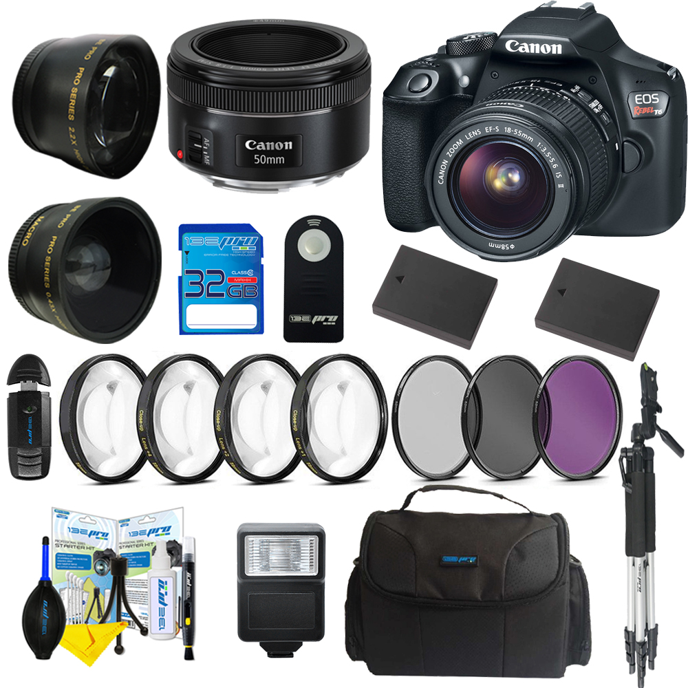 Canon EOS Rebel T5i DSLR Camera with 18-55mm EF-S 1:3.5-5...