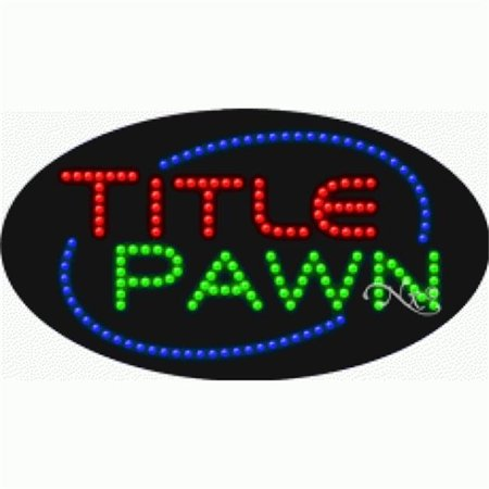 Arter Neon 24611 Title Loans   Title Pawn  44  Red   Blue