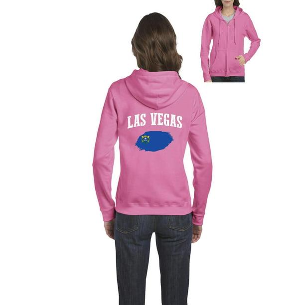 Las Vegas Nv Zip: Las Vegas Nevada Women's Full-Zip