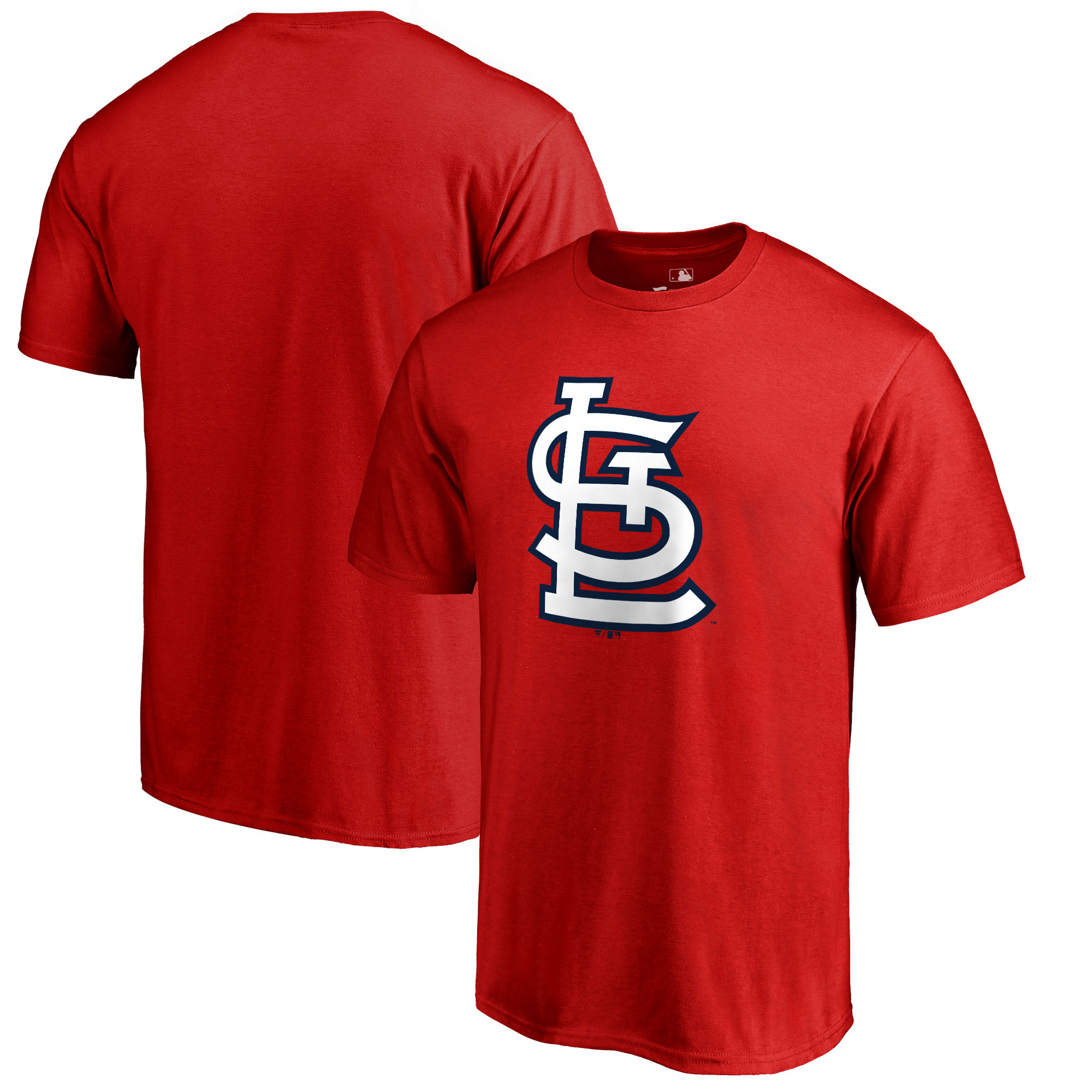 St. Louis Cardinals Primary Logo T-Shirt - Red