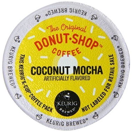Keurig, The Original Donut Shop, Coconut Mocha, K-Cup Packs, 72