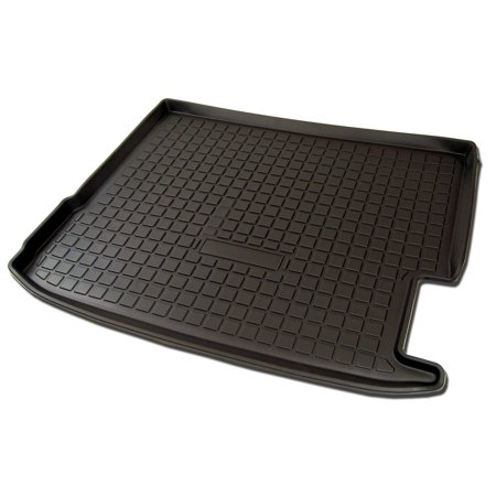 TuningPros CLTM-040 Custom Fit Black Trunk Floor Mat For 2014-2017 BMW X4 F26 - 1 pcs Set Cargo Liner BMW X4 F26 14 15 16 17