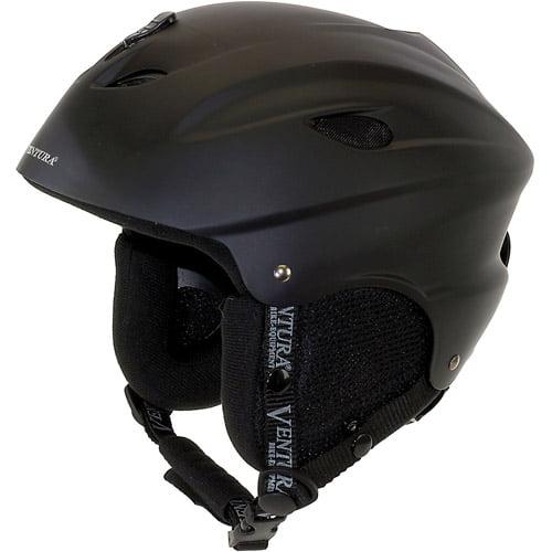 Ventura Skiing Snowboarding Black Helmet, Children's by Generic