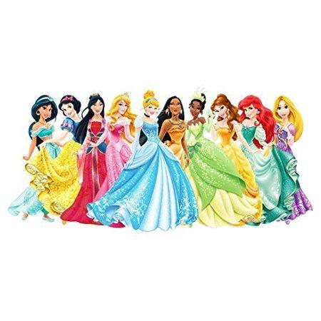 1/2 Sheet Disney Princess Ariel Aurora Bella Cinderella Jasmine Mulan Pocahontas Tiana Edible Photo Birthday Cake Topper Frosting Sheet Personalized Party - Cinderella Cake Topper