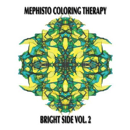 Mephisto Coloring Therapy Bright Side, Volume 2 : Adult Coloring Book