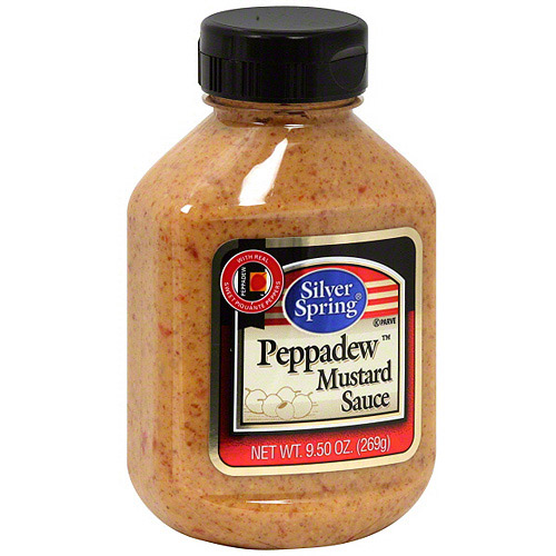 Silver Spring Peppadew Mustard Sauce, 9.5 oz (Pack of 9)
