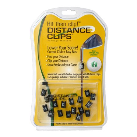 Distance Clips Yardage Markers - Lower Your Score - Clip Your Distance