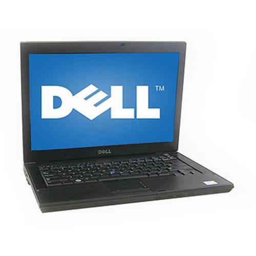 """Refurbished Dell Black 14"""" E6400 Laptop PC with Intel Core 2 Duo Processor and Windows 7 Home Premium"""
