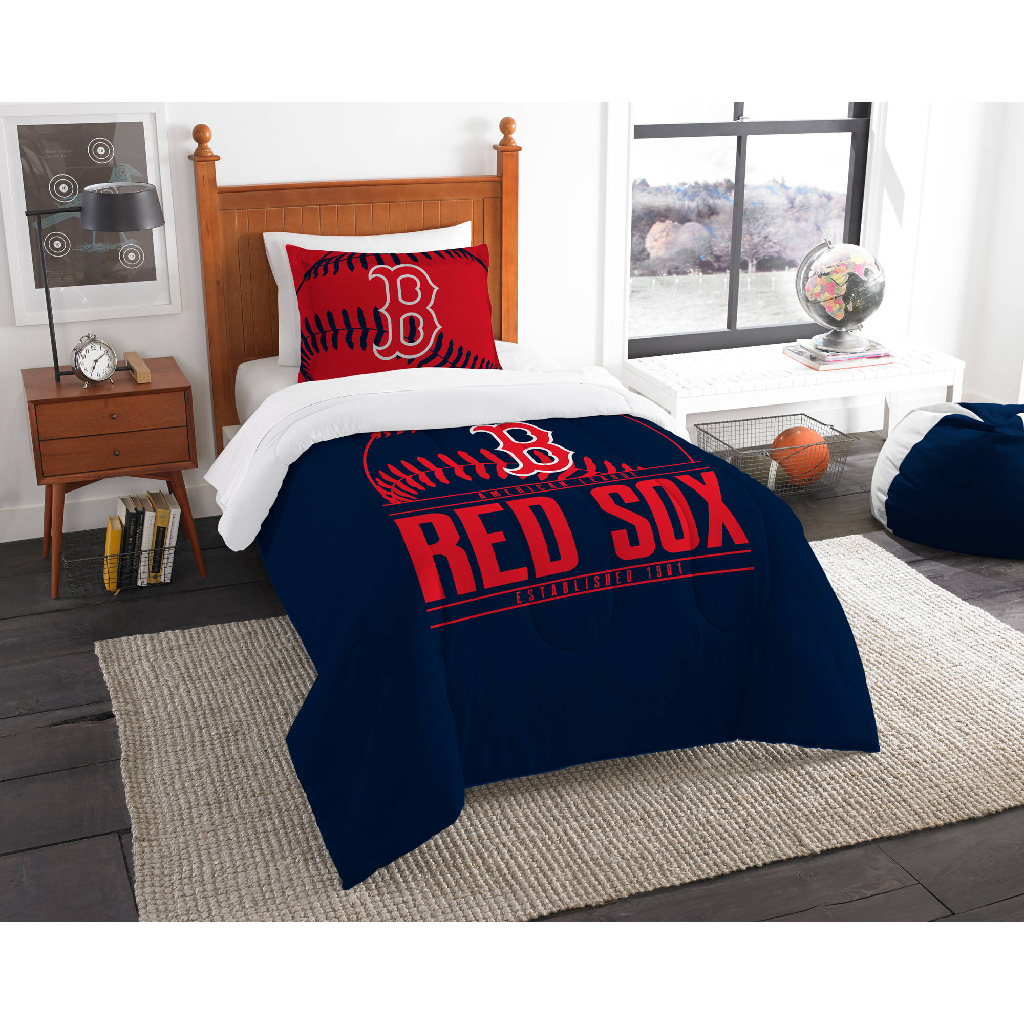 "MLB Boston Red Sox ""Grand Slam"" Bedding Comforter Set"