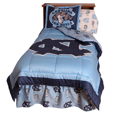 College Covers NCAA North Carolina Bedding Collection