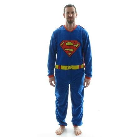 Superman Costume Cape Union Suit (Superman Suit)